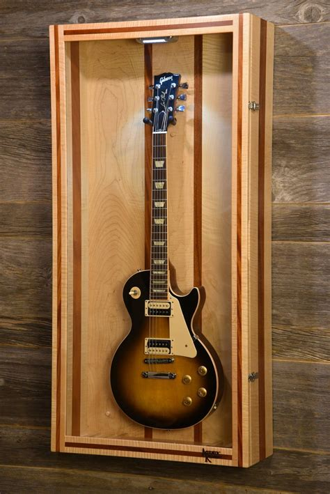Plans For Guitar Display Case